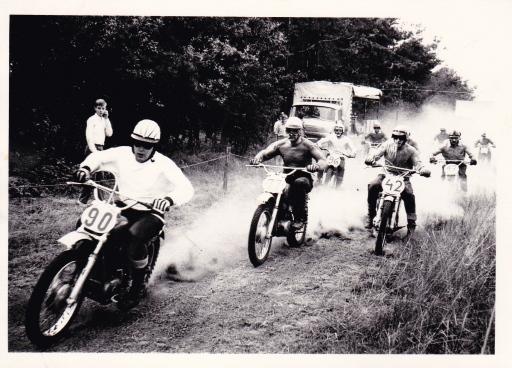 Maico 250cc stand.1969